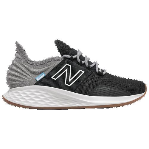 New Balance Fresh Foam Roav - Women's Running Shoes - Black / Light Aluminum - WROAVTK-D