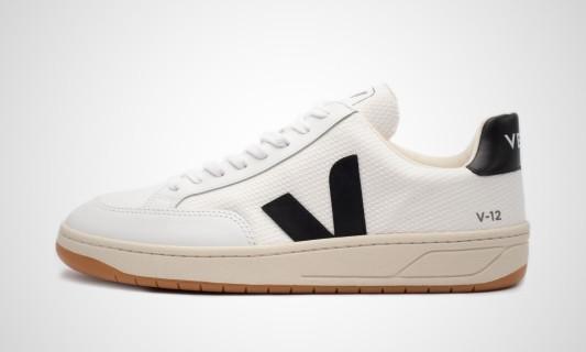 V-12 B-Mesh (weiß / schwarz) Sneaker - XD012165