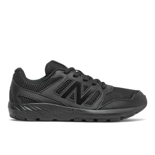 New Balance 570 - Black, Black - YK570AB2