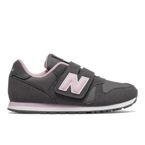 Womens New Balance 373 - Grey/Pink, Grey/Pink - YV373CE