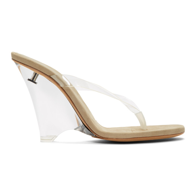 YEEZY Transparent Thong Heeled Sandals - YZ7245.021