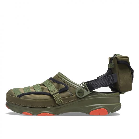Crocs x Beams Classic All-Terrain Military Clog Army Green - x-Beams-Classic-All-Terrain-Military-Clog-Black-(2021)